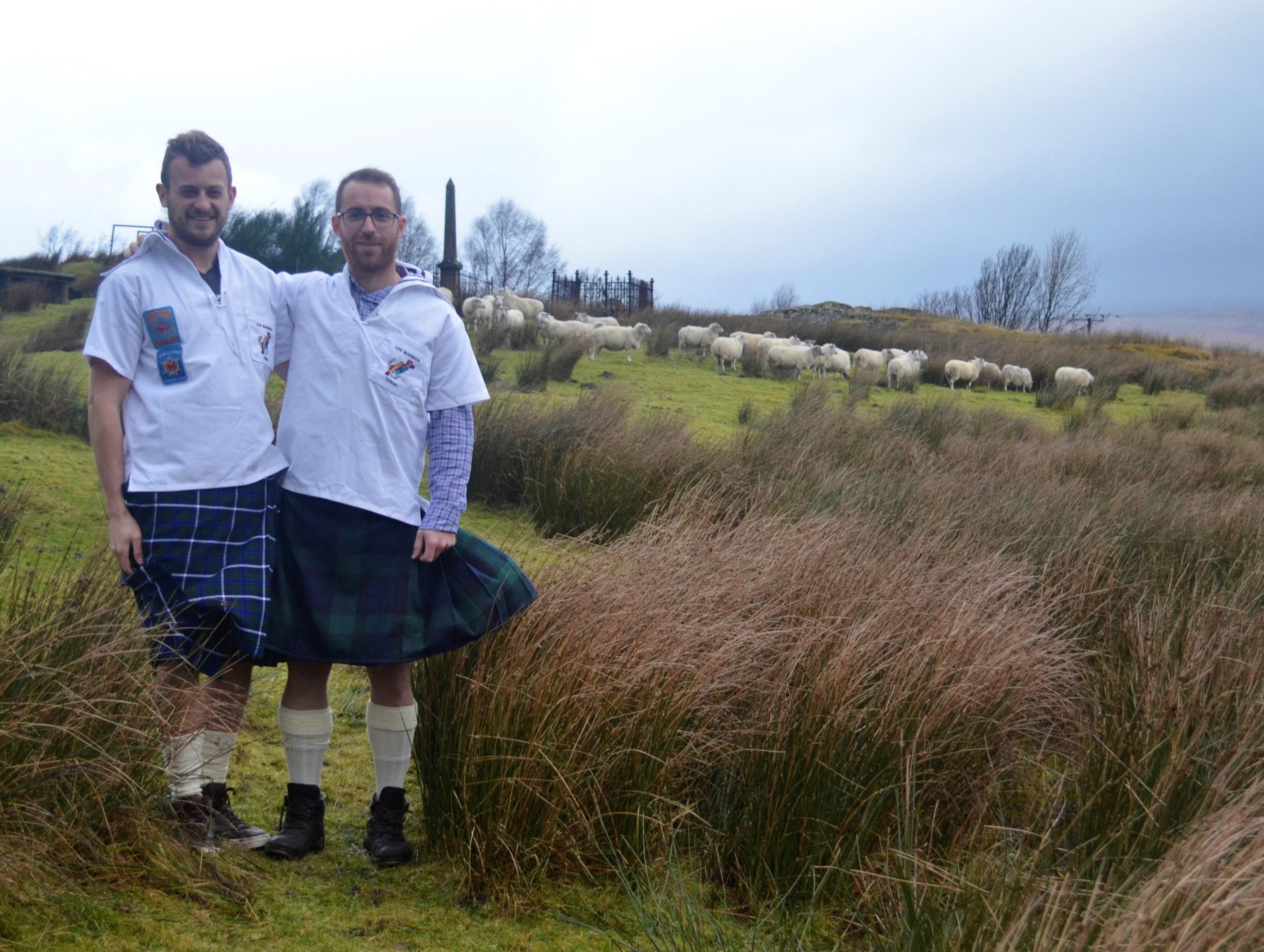 Saludos desde Escocia