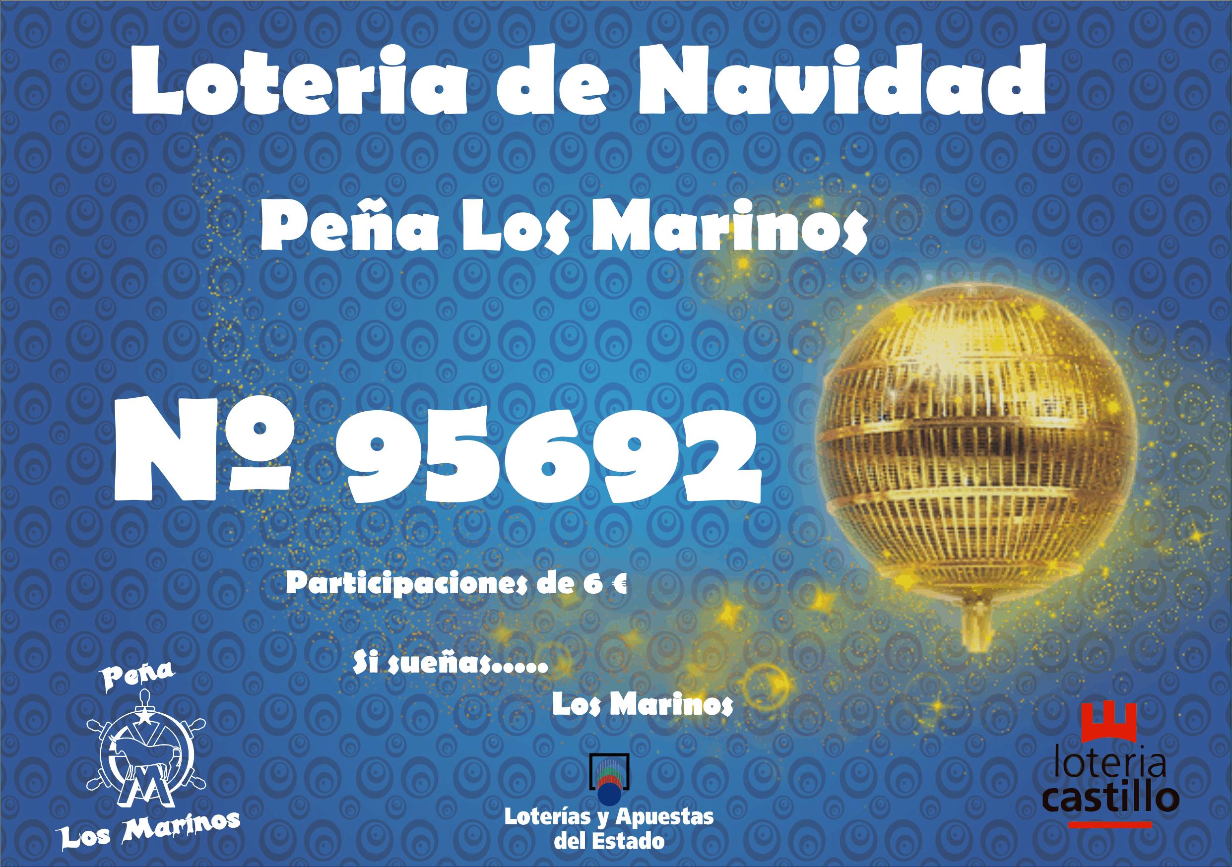 Imagenes Loteria Navidad.Loteria Navidad 2018 Pena Los Marinos De Teruel